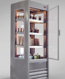 espositore_riscaldato_personalizzato_fogal_SCARLET_ inox_hinged door